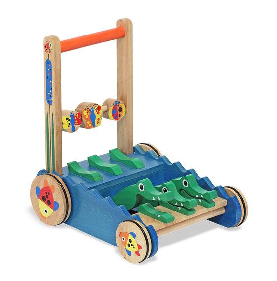 Bild von Holz Krokodil Push-Spielzeug - Melissa & Doug (13011)