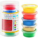 Sensory Tactile Theraputty Therapy Putty Multi Pack 5 Farben / 5 Stärken