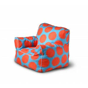 Kindersitzsack Sessel Orange / Blau - Kayoom (kayoom-4)