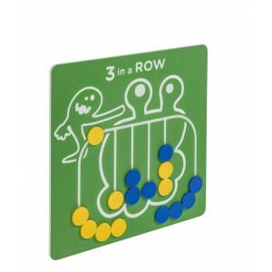 Spielwand 3 in Einer Reihe - Grün - 735 x 735 cm - KBT