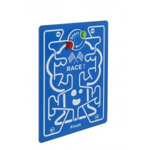 Spielwand Race - Blau - 735 x 98 cm - KBT