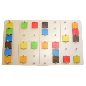 Sudoku Farbenpuzzle