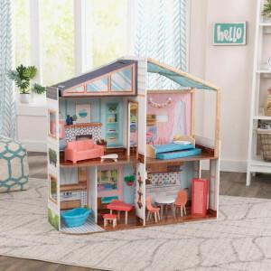 Kidkraft Entworfen Von Me Magnetic Makeover Dollhouse 10154