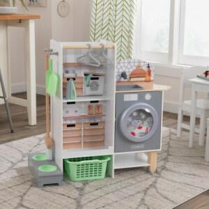 Kidkraft 2-in-1 Küchen- Und Wäschespielset 10240