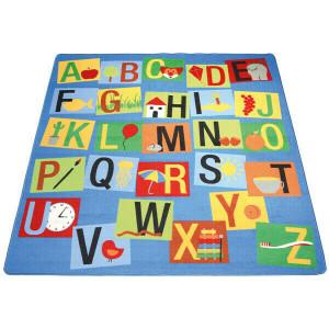Teppich Buchstaben