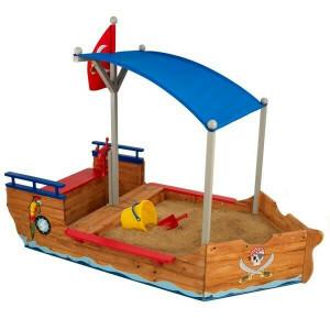 Piratenschiff mit Sandkasten - Kidkraft (00128)
