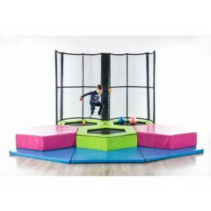 Mini Jump Trampoline Park Kleinkinder / Kleinkinder, 4 Trampoline