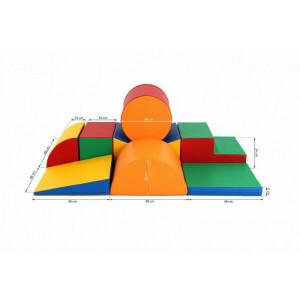 Soft Play Schaumstoff-Spielklötze Set 11, 8-teilig XL