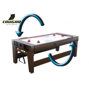 Reverso Pool und Air Hockey Tisch - Cougar (A040.006.00)