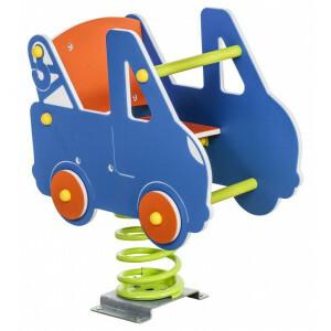 Federwippe - Abschleppwagen