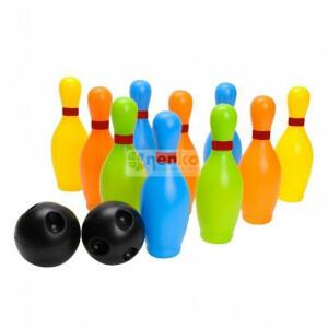 Farbiges Bowlingset