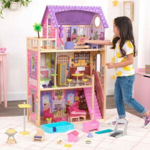 Puppenhaus-set Für Terrasse Und Pool