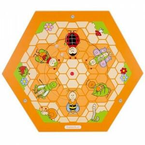 Wandelement Bienenstock Insekten auf Wiese - Beleduc (23740)