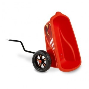 Exit Foxy Fire Pedal Go-kart Anhanger - Rot