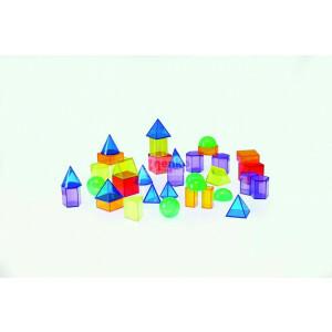 Transparente Geometrische Formen - (24516)