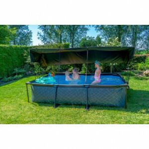 EXIT Pool Sonnensegel 300x200cm