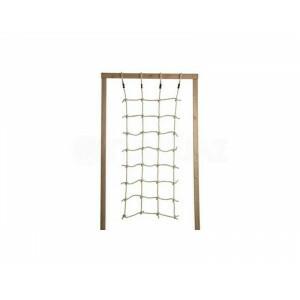 Kbt Polyhemp Kletternetz Ph12 - 1500 X 2000 mm - Seiten mit Offenen Schlaufen