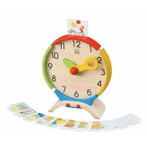Holzlernspiel Aktivitaten Uhr