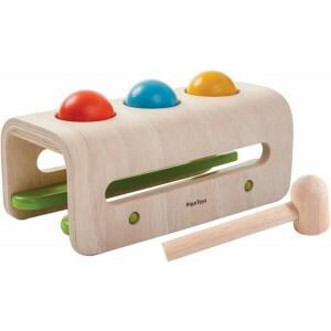 Hammer Ball Spielzeug für motorische Fahigkeiten - Plan Toys (4005348)