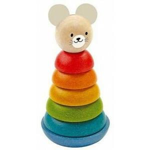 Holzstapelfigur Maus - Plan Toys (4005681)