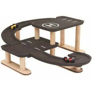 Spielzeugrennen und spielen Sie Parkhaus - Plan Toys (4006270)
