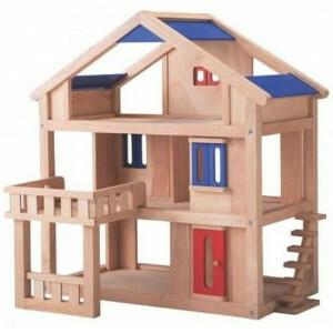 Puppenhaus mit Terrasse