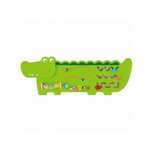 Wand Aktivitätszentrum - Krokodil