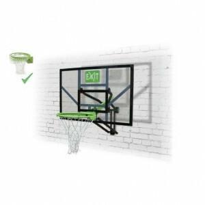 Exit Galaxy Wand-basketball-rückwand Mit Dunk-ring - Grün / Schwarz