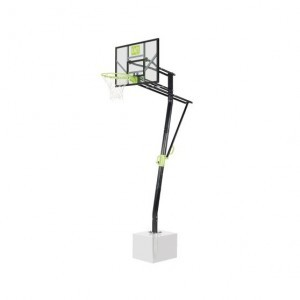 Exit Galaxy Bodenmontiertes Basketball-backboard - Grün / Schwarz