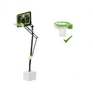 Exit Galaxy Bodenmontiertes Basketball-backboard mit Dunk-ring - Schwarze Edition