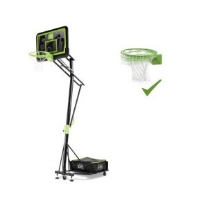 Exit Galaxy Tragbares Basketball-backboard Auf Rädern mit Dunk-ring - Schwarze Edition