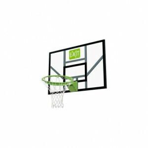 Exit Galaxy Basketball Backboard mit Dunk Ring Und Netz - Grün / Schwarz