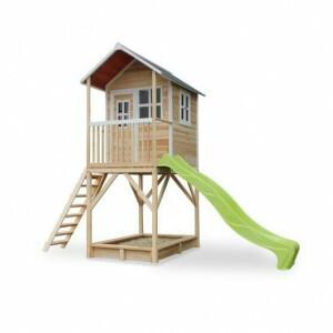 Loft 700 Holzspielhaus - natürlich - Exit (50.07.21.00)