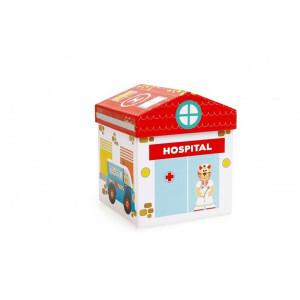 Play Box Hospital 2 In 1 - KRASSEN (6181104)