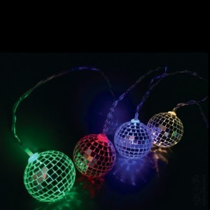 Disco Ball Lichterketten -  (62271)