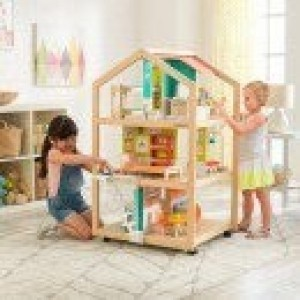 So Stylish Mansion Dollhouse Mit EZ Kraft Assembly - Kidkraft (65199)