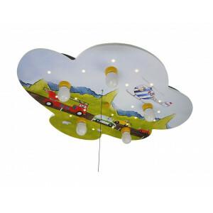 """Deckenleuchte Wolke, Autos """"Amazon Echo Kompatibel"""""""