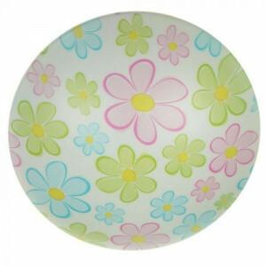Deckenschale Bunte Blumen, 45 cm