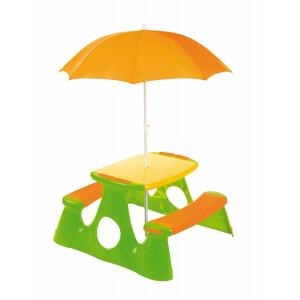 Picknicktisch mit Sonnenschirm - Paradiso Toys (7099.010)