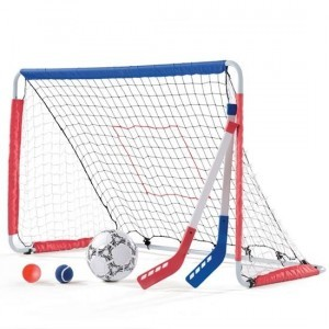 Kickback Soccer Goal & Pitch Back - Step2 (715199)