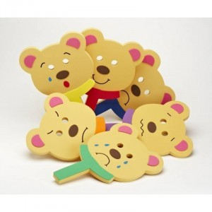 Feely Face Bear Masken -  (74141)