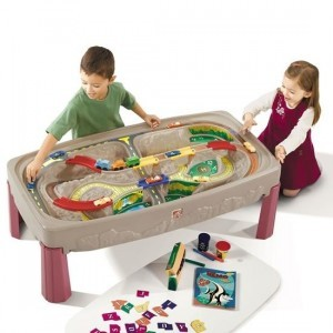 Deluxe Canyon Road Zug und Track Table - Step2 (754700)