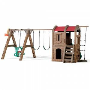 Abenteuer Lodge Spielplatz von Step 2 (801300)
