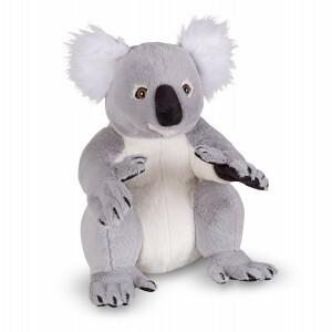 Lebensechte Plüsch Koala Stofftier Stofftier - Melissa & Doug (18806)