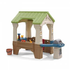 Tolles Spielhaus im Freien