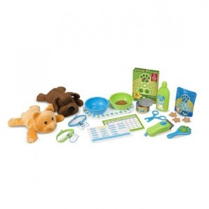 Futter und Pflege Pet Care Play Set - Melissa & Doug (8551)