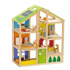 Puppenhaus Vier Jahreszeiten – Hape (möbliert)