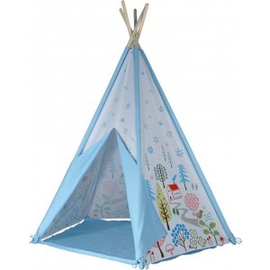 Kids Kingdom Teepee Spielzelt - Blau - Spirit Of Air (9460)
