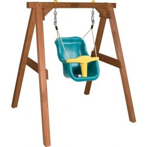 Baby Hemlock Holz Brown Swing Sitz - AXI (A030.301.00)