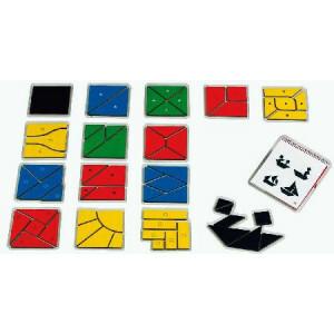 Lernspiel Nikitin N3 Quadrate